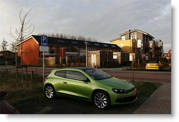 VW Scirocco - Viper Green