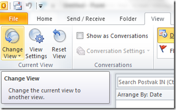 Why is it so hard to find unread messages in Outlook 2010