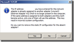 IP warning