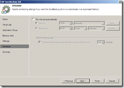 Veeam SureBackup Job settings run settings
