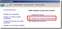 User Account Control