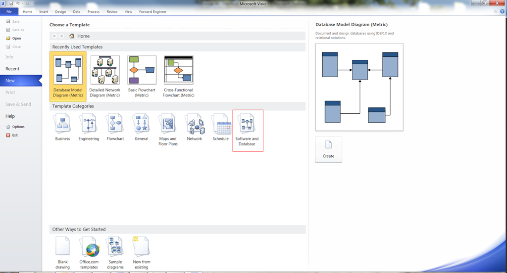 Reverse And Forward Engineering Databases In Visio 2010 Peppercrew