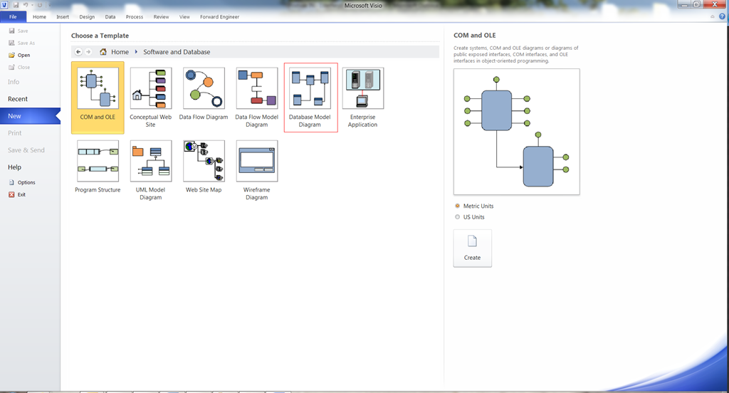 Reverse and forward engineering databases in visio 2010 peppercrew how to reverse engineer a database from microsoft sql to microsoft visio 2010 ccuart Images