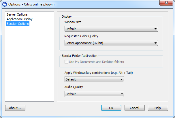 Scripting Citrix Online Plugin Settings – PepperCrew