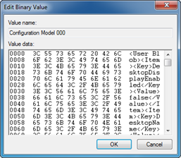 Edit Binary Value