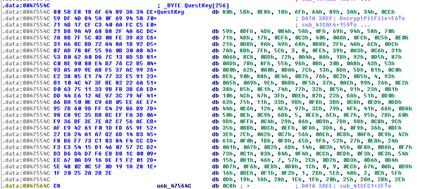 Quest Secret Key (large byte array)