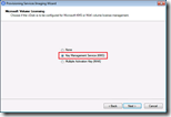 Provisioning Services Imaging Wizard - Microsoft Volume Licensing