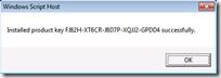 SlMgr /IPK <ProductKey>