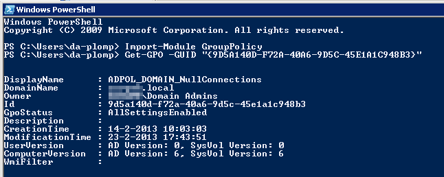 accept guid in powershell