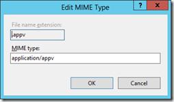 Edit MIME Type