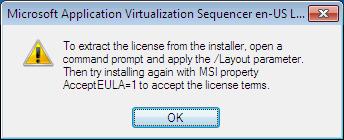 App-V Language Pack installation AcceptEULA