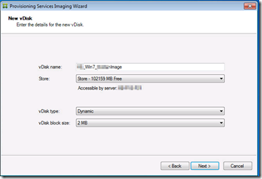 Creating a VHD vDisk from the endpoint device – PepperCrew