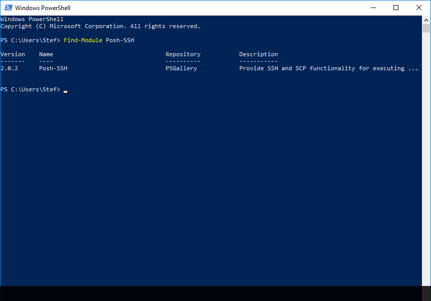 Reset Root Password of your Synology through PowerShell SSH (Without