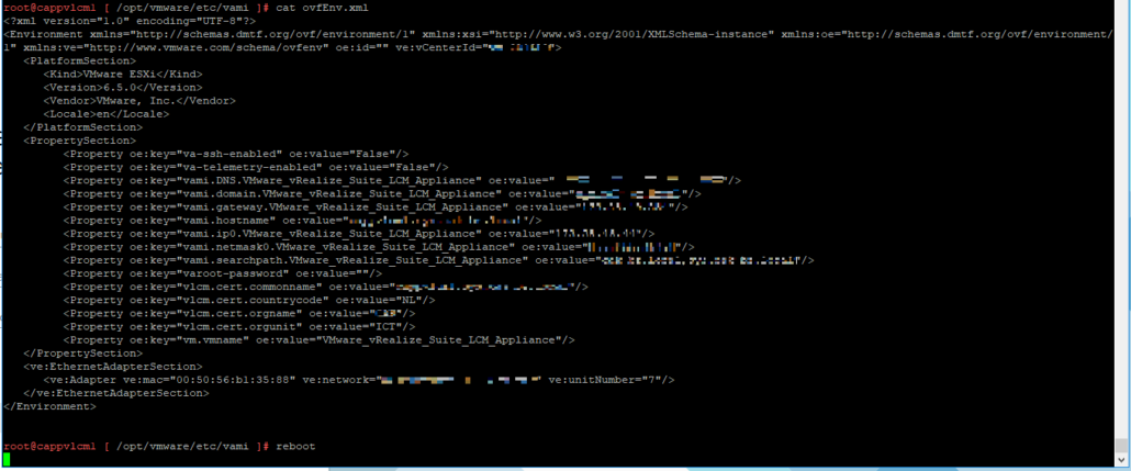 Change DNS server on vLCM Appliance – PepperCrew